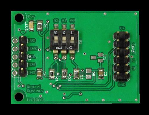 I2C 4-Kanal DAC