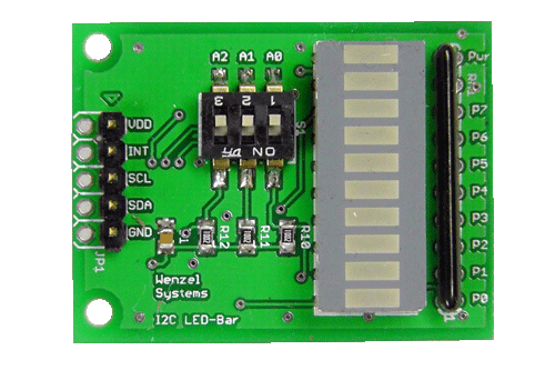 I2C_LED-Bargraph