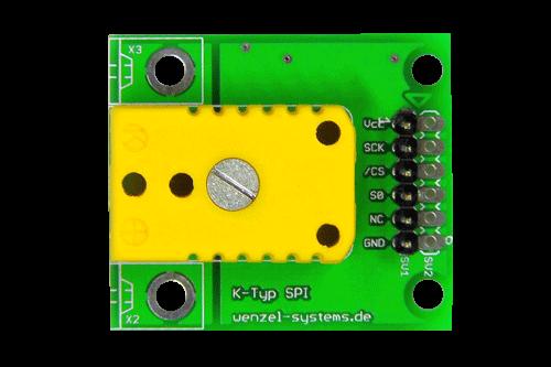 SPI MAX6675 K-Typ Board